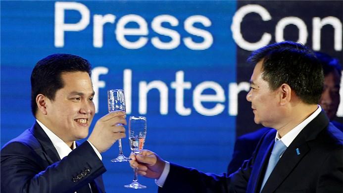 """""""拿国内钱挥霍"""",苏宁投资国际米兰靠谱吗?"""